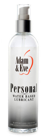 Adam And Eve Personal Water-Based Lubricant - 8 oz. Adam and Eve Lubricants, Creams & Glides daily deals