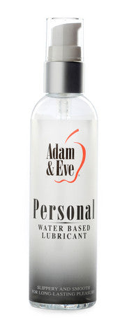 Adam And Eve Personal Water-Based Lubricant - 4 oz. Adam and Eve Lubricants, Creams & Glides daily deals