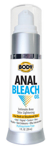 Body Action Anal Bleach Gel - 1 oz. Body Action Anal Bleach