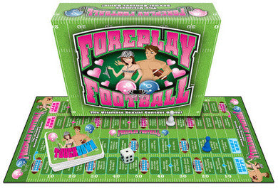 Foreplay Football Board Game Ball & Chain Games Bondage and Fetish Games