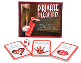 Private Pleasures Ball & Chain Card Games Bondage and Fetish Games