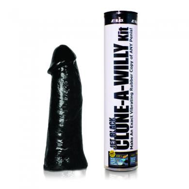 Clone A Willy Kit - Jet Black Clone-a-willy Dildos & Dongs