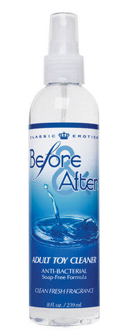 Before And After Toy Cleaner - 8 oz. Classic Erotica Toy Cleaners