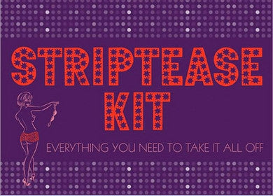 Striptease Kit - Everything You Need To Take It Off Sale Items Romance Kits Sexual Themed Kits