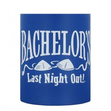 Bachelor's Last Night Out Beer Can Cooler Georges Fun Factory Bachelor & Bachelorette Drinking Novelties