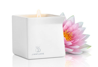 Afterglow Pink Lotus Massage Oil Candle - 4.5 oz. Jimmyjane Massage