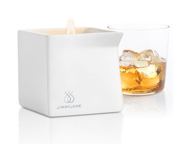 Afterglow Bourbon Massage Oil Candle - 4.5 oz. Jimmyjane Candles