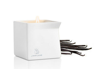 Afterglow Dark Vanilla Massage Oil Candle - 4.5 oz. Jimmyjane Massage