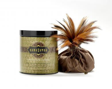 Chocolate Caress Honey Dust Body Powder - 8 oz. Kama Sutra Edible Body Powder