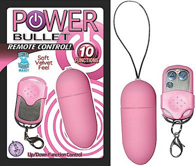 Power Bullet Remote Control - Pink Nasstoys Remote Wireless