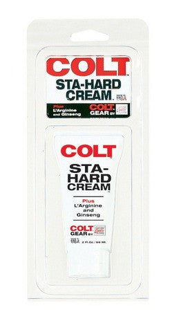 Colt Sta-Hard Cream - 2 oz. Carded