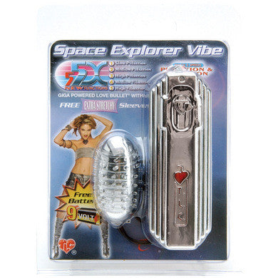 5X Giga Power Space Explorer Chrome Bullet Vibe