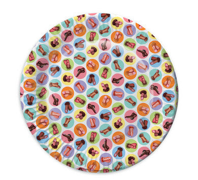 Mini Penis Plates - 8 Pack Candyprints Bachelorrette