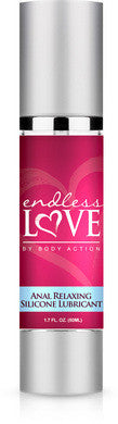 Endless Love Anal Relaxing  Silcione Lubricant - 1.7 Oz. Body Action Anal Silicone Based Lubricants