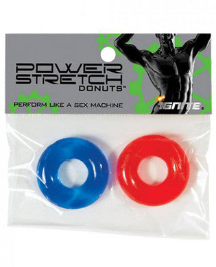 Power Stretch Donuts -  2 Pack - Black and Blue