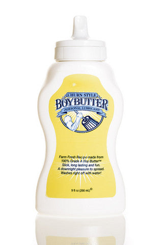 Boy Butter Original Lubricant - 9 oz. Squeeze Bottle Boy Butter Lubricants, Creams & Glides daily deals