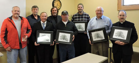 Columbus Washboard Co Receives The Golden Oak Award In Celebration Of Business Appreciation Week
