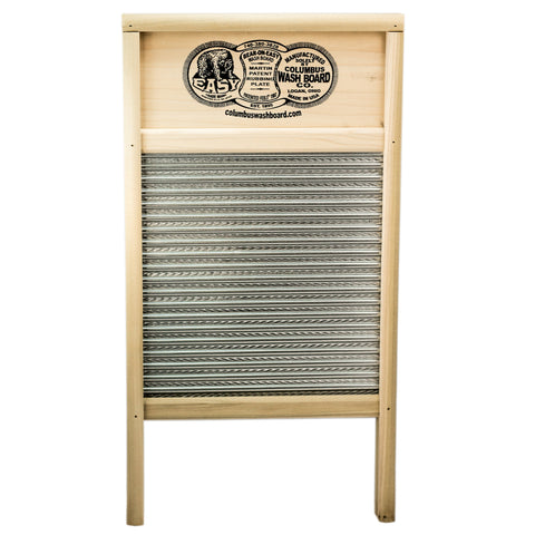 Bear On Easy Handmade Washboard