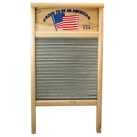 Proud to Be American Handmade Washboard