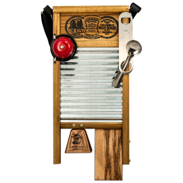 uncle willie 39 s deluxe musical washboard columbus washboard co. Black Bedroom Furniture Sets. Home Design Ideas