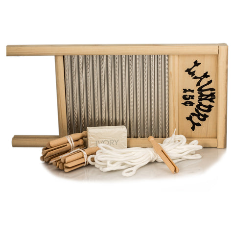 Vintage Laundry Washboard Kit