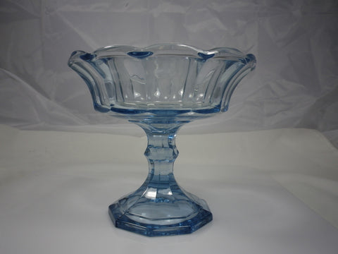 Fostoria Virginia Light Blue Compote