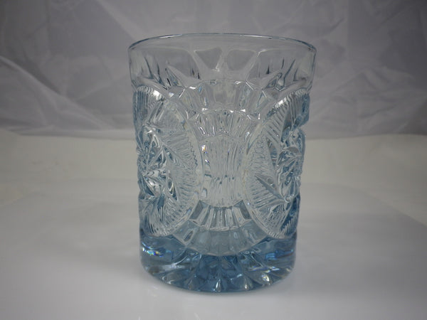 Fostoria Stowe Light Blue Double Old Fashioned