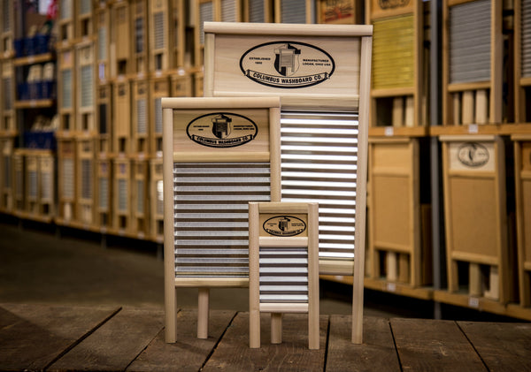 Official Columbus Washboard Handmade Washboard