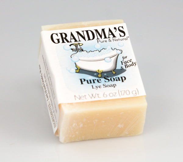 Grandma's Old Fashioned Lye Soap