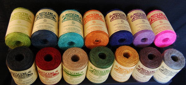 Jute Mini Spools, 13m(40ft)