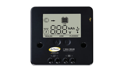 solar charge controller for portable solar panels