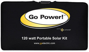 storage case for portable solar panel