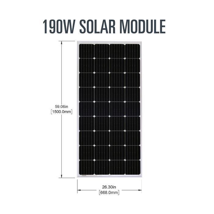 Overlander Solar Kit + Expansion Kit (380 watts) w/ Bonus