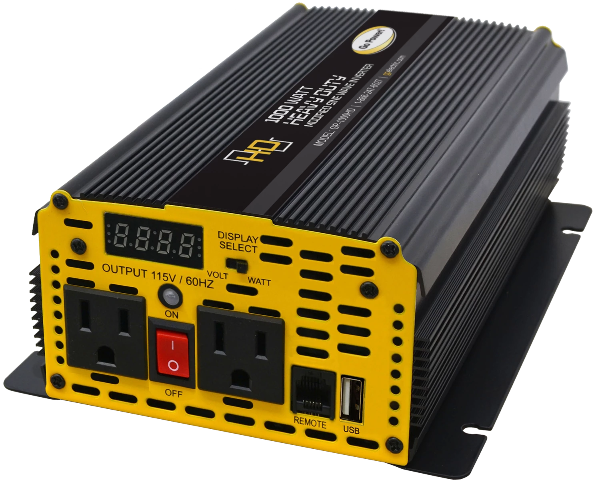 1000 WATT HEAVY DUTY MODIFIED SINE WAVE INVERTER with USB
