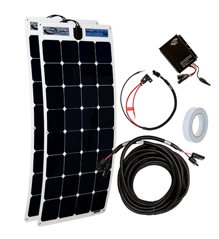 200-watt Commercial Vehicle Solar Kit