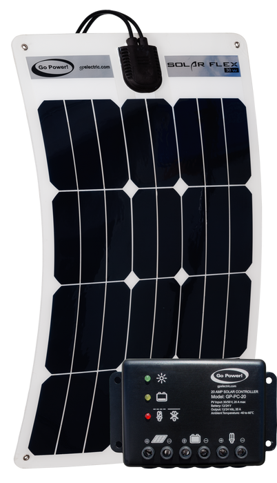 30-watt Commercial Vehicle Solar Kit