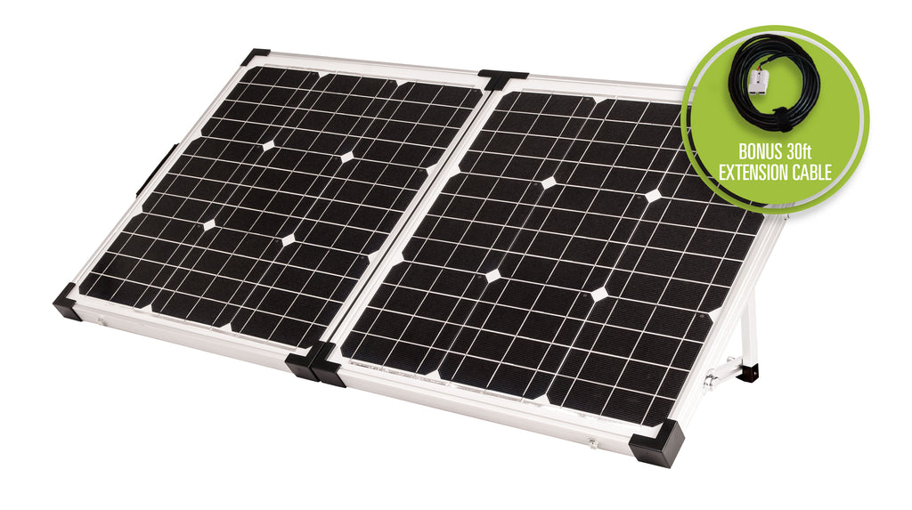 90 watt Portable Solar Kit