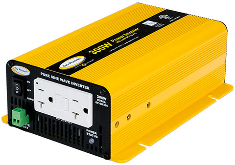 300 Watt Pure Sine Wave Inverter (12v)