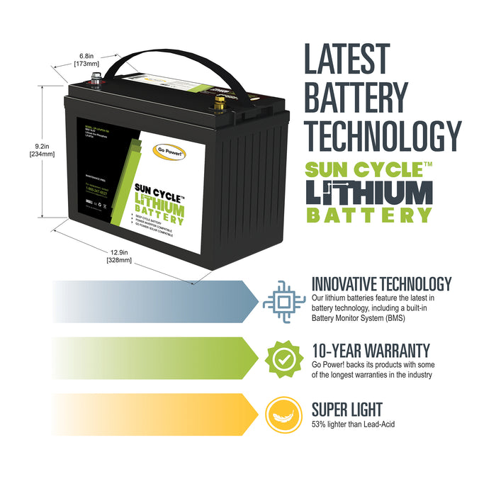 100Ah Lithium Iron Phosphate Solar Battery