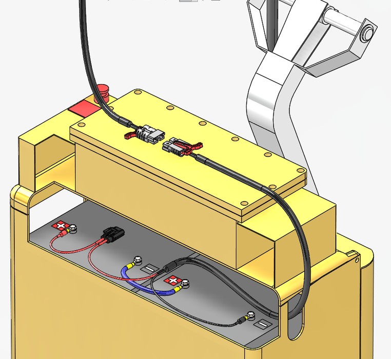 Pallet Jack and Liftgate Charging