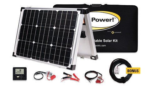 Solar kit includes everything you need