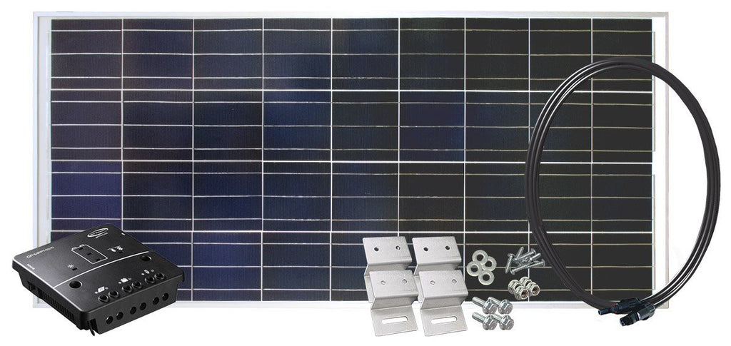135W Complete Solar Charging Kit