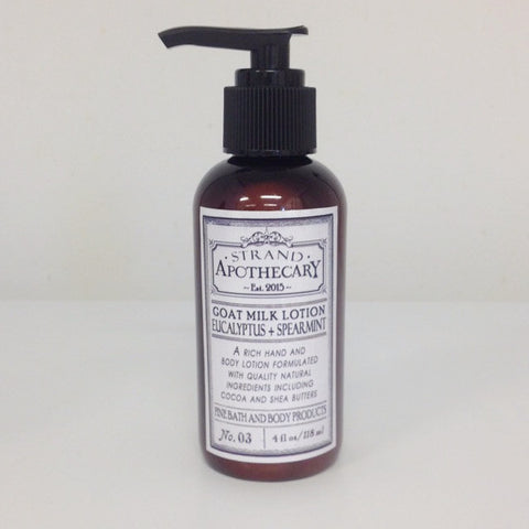 Goat Milk Lotion, 4 oz.