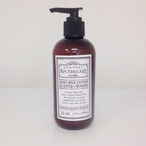 Goat Milk Lotion, 8 oz.