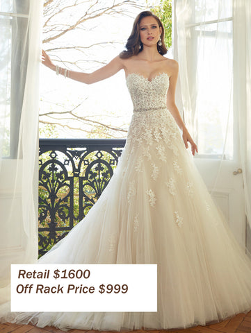 Off rack bridal gowns at amara bridal boutique of cincinnati brides shopping our off the rack sale gowns receive the same level of personal attention as our special order brides we will help you find the dress of junglespirit Images