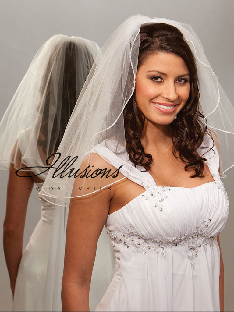 Illusion Bridal Shoulder Length 1-201-P