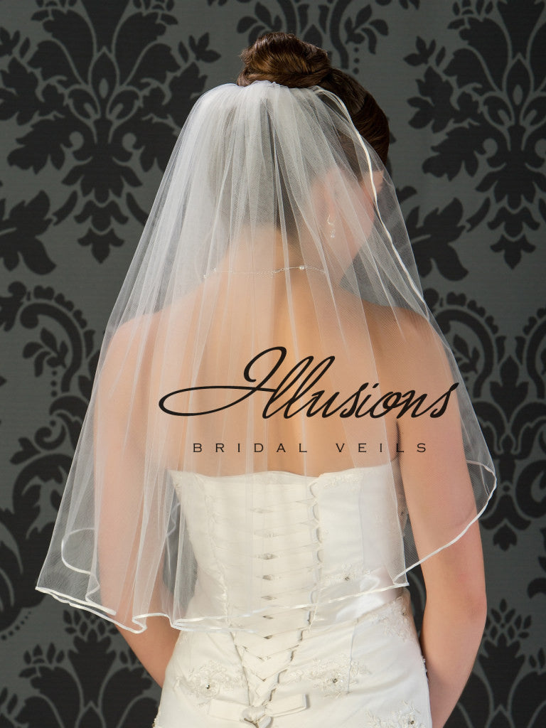 Illusion Bridal Elbow Length 1-251-1R