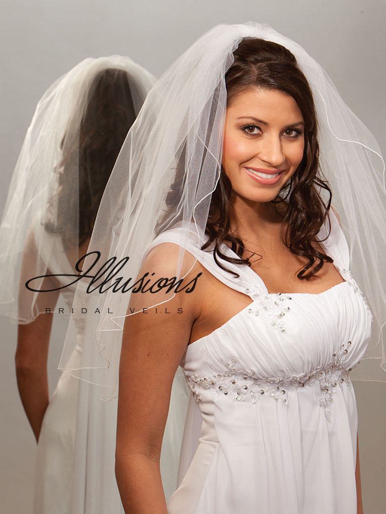 Illusion Bridal Elbow Length 1-251-C