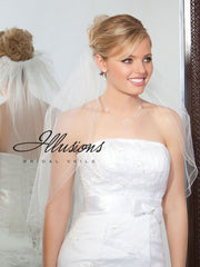 Illusion Bridal Elbow Length 1-251-DC-BB