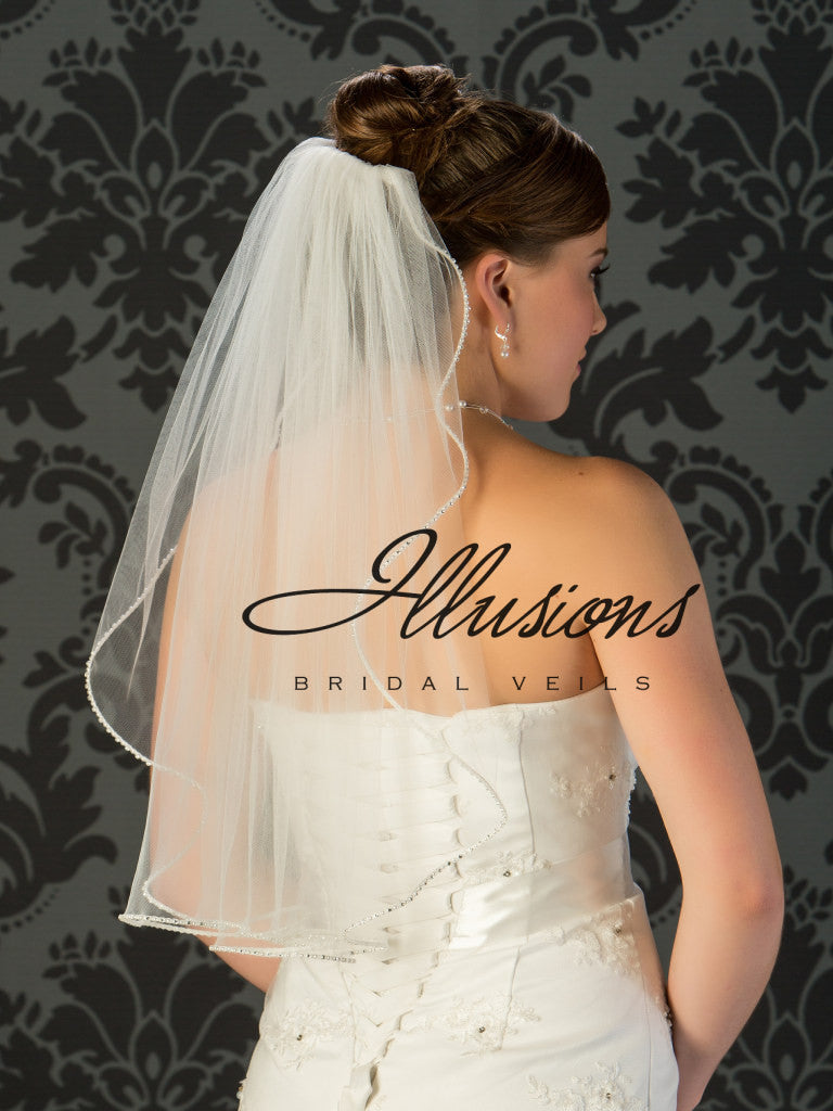 Illusion Bridal Elbow Length  1-251-PRS